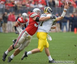 046 Mike Kudla Ohio State Michigan 2004 The Game football