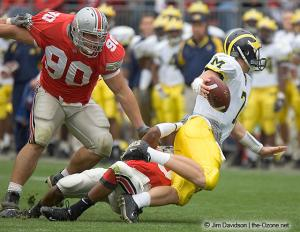 051 Quinn Pitcock Donte Whitner Ohio State Michigan 2004 The Game football