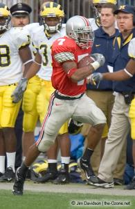 053 Ted Ginn Ohio State Michigan 2004 The Game football