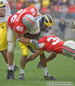 056 Chad Hoobler Sirjo Welch Ohio State Michigan 2004 The Game football