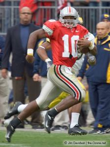 058 Troy Smith Ohio State Michigan 2004 The Game football