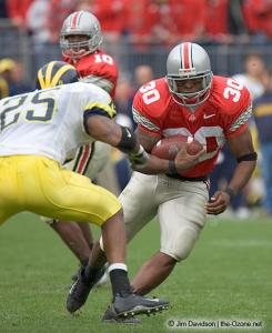 059 Lydell Ross Ohio State Michigan 2004 The Game football