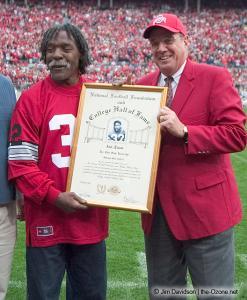 067 Jack Tatum Andy Geiger Ohio State Michigan 2004 The Game football
