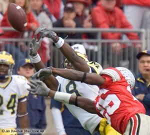 071 Ashton Youboty Ohio State Michigan 2004 The Game football