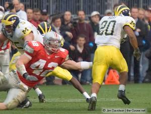 074 Bobby Carpenter Ohio State Michigan 2004 The Game football