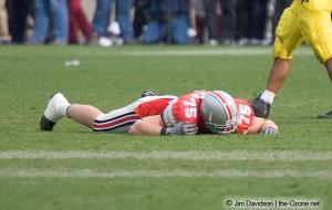 075 Simon Fraser Ohio State Michigan 2004 The Game football