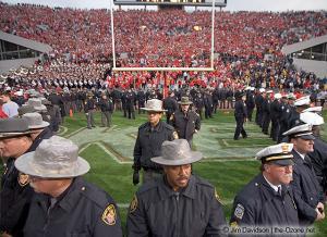 080 postgame celebration Ohio State Michigan 2004 The Game football