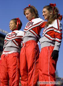 012 osu cheerleaders Ohio State Michigan 2005 The Game football