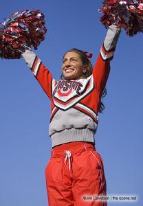 013 osu cheerleaders Ohio State Michigan 2005 The Game football