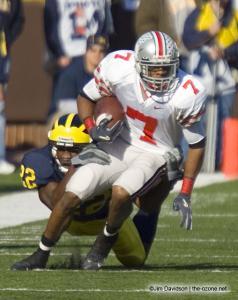 019 Ted Ginn Ohio State Michigan 2005 The Game football