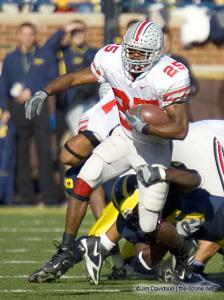 021 Antonio Pittman Ohio State Michigan 2005 The Game football