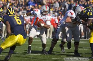 026 Troy Smith Ohio State Michigan 2005 The Game football