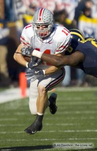 035 Anthony Gonzalez Ohio State Michigan 2005 The Game football