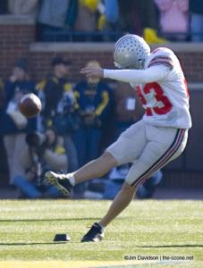 037 Josh Huston Ohio State Michigan 2005 The Game football