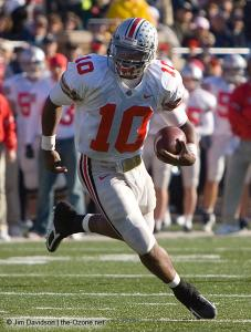 044 Troy Smith Ohio State Michigan 2005 The Game football