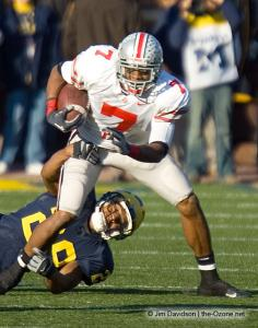 055 Ted Ginn Ohio State Michigan 2005 The Game football
