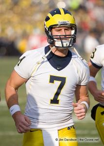 008 Chad Henne Ohio State Michigan 2007 The Game football