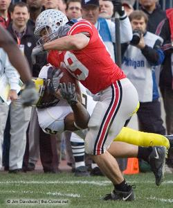 030 Stan White Ohio State Michigan 2007 The Game football