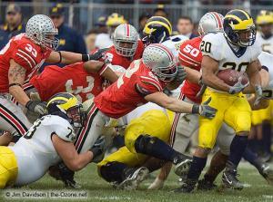 037 James Laurinaitis John Kerr Ohio State Michigan 2007 The Game football