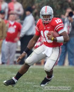 038 Troy Smith Ohio State Michigan 2007 The Game football