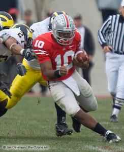 039 Troy Smith Ohio State Michigan 2007 The Game football