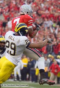 050 Ted Ginn Ohio State Michigan 2007 The Game football