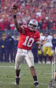 058 Troy Smith Ohio State Michigan 2007 The Game football