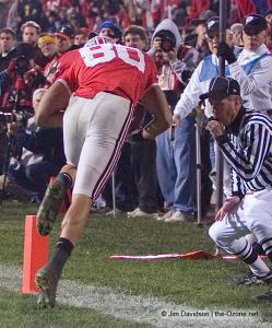 079 Brian Robiskie Ohio State Michigan 2007 The Game football