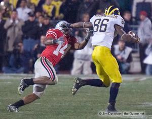 084 Antonio Smith Ohio State Michigan 2007 The Game football