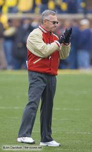 009 Jim Tressel Ohio State Michigan 2007 The Game football