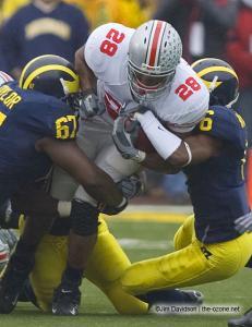 021 Chris Wells Ohio State Michigan 2007 The Game football