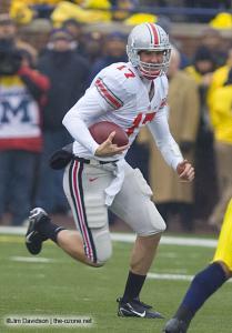 022 Todd Boeckman Ohio State Michigan 2007 The Game football