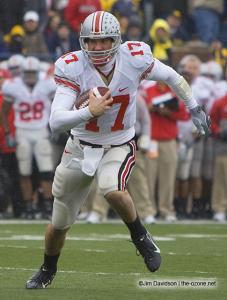 035 Todd Boeckman Ohio State Michigan 2007 The Game football