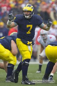 043 Chad Henne Ohio State Michigan 2007 The Game football