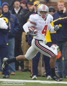 053 Ray Small Ohio State Michigan 2007 The Game football