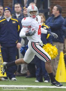 054 Ray Small Ohio State Michigan 2007 The Game football