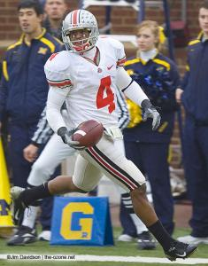 055 Ray Small Ohio State Michigan 2007 The Game football