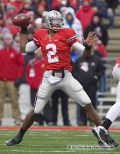 019 Terrelle Pryor Ohio State Michigan 2008 The Game football