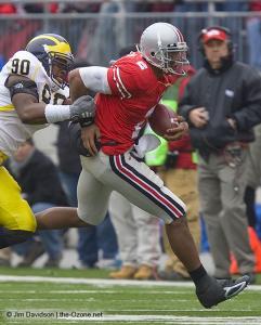 043 Terrelle Pryor Ohio State Michigan 2008 The Game football