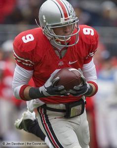045 Brian Hartline Ohio State Michigan 2008 The Game football