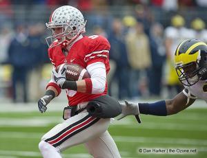 047 Brian Hartline Ohio State Michigan 2008 The Game football