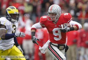 048 Brian Hartline Ohio State Michigan 2008 The Game football