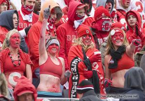 052 osu fansOhio State Michigan 2008 The Game football