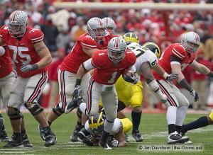 069 Boom Herron Alex Boone Ohio State Michigan 2008 The Game football