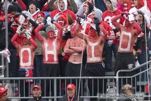 074 osu fans Ohio State Michigan 2008 The Game football