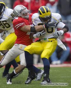 076 Kurt Coleman Ohio State Michigan 2008 The Game football