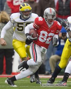 078 Ray Small Ohio State Michigan 2008 The Game football