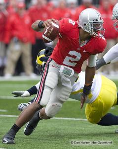 086 Terrelle Pryor Ohio State Michigan 2008 The Game football