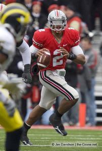 087 Terrelle Pryor Ohio State Michigan 2008 The Game football