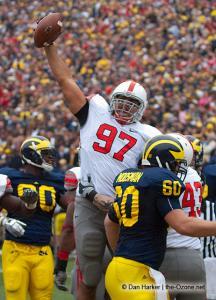 022 Cameron Heyward touchdown Ohio State Michigan 2009 football